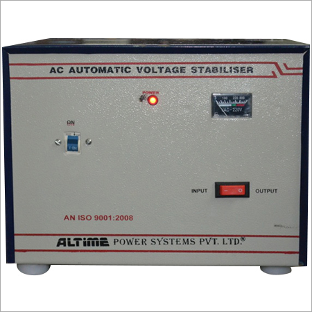 Relay Controlled Voltage Stabilizer