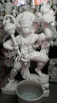 Lord Hanuman Marble Murti