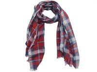 Check Cotton Scarves