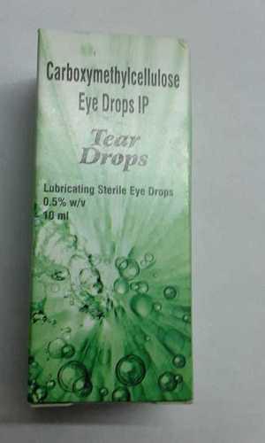 Carboxymethylcellulose eye drop