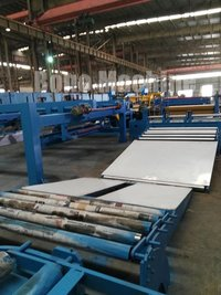 Slitting Line With Double Slitters