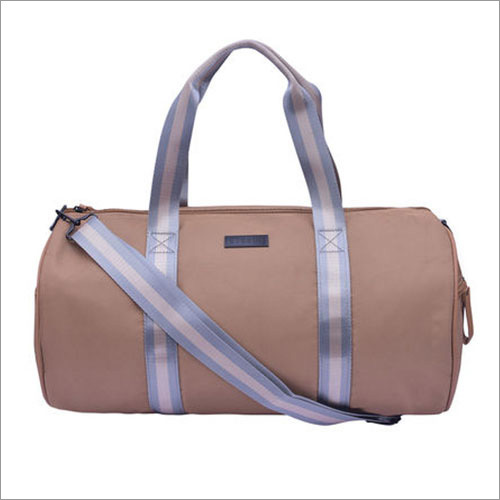 Solid Pattern Gym Duffle Bag