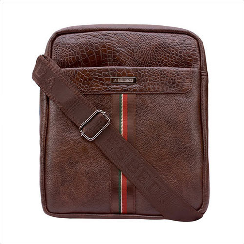 Mens Leather Sling Bag