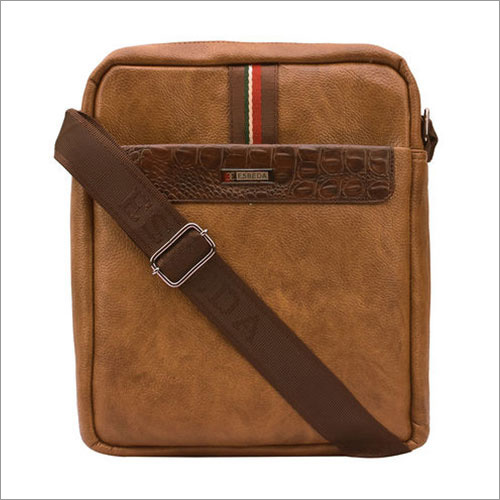 Mens Brown Sling Bags