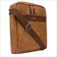 Mens Brown Sling Bags