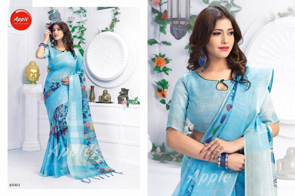 Fancy Digital Printed Sarees
