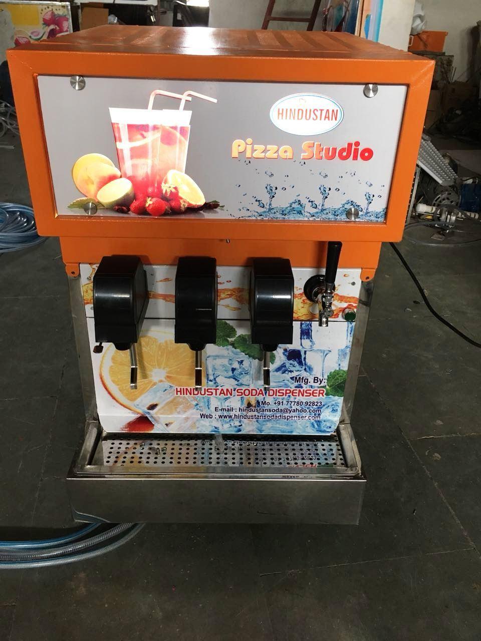 4 FLAVOR SODA MACHINE