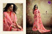 Cotton Print Sarees