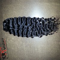 100% Virgin Indian Remy Wave Curly Human Hair Extension