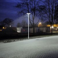 2000 Lumens Fully Automatic LED Solar Courtyard Lights