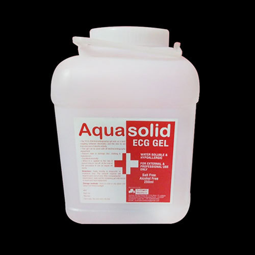 Aqua Solid ECG Gel