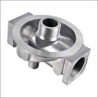 Oil Filter Head Machining Parts