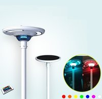 1800 Lumens Remote Controlled & Colored LED Solar Courtyard Light