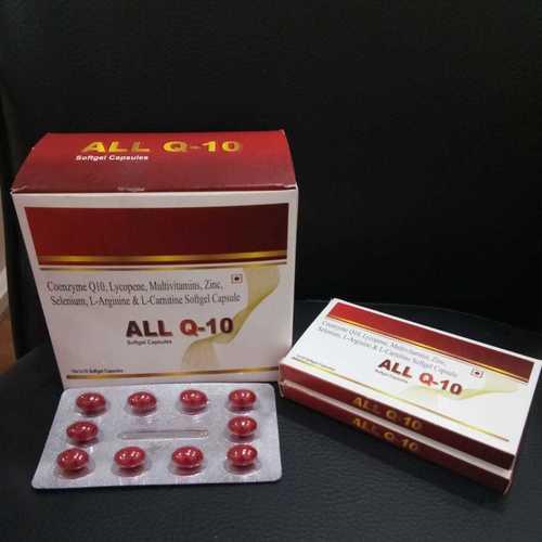 Coenzyme Q10 Softgel Capsules