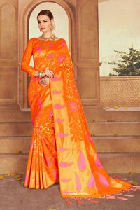 Exclusive Jacquard Silk Saree