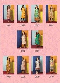 Designer Rayon Print Kurtis