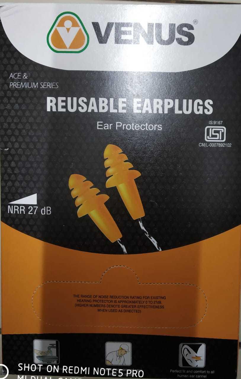 VENUS REUSABLE EAR PLUGS