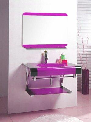 Lip counter wash basin