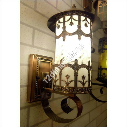 Wrought Iron Wall Mounted Light