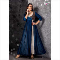 Ladies indo western Designer Gown