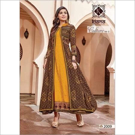 Ladies Designer Jodhpuri Style Kurti