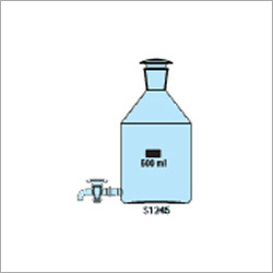 Aspirator Bottle With Stopcock