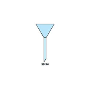 Plain 60 Degree Angle Stem Funnel
