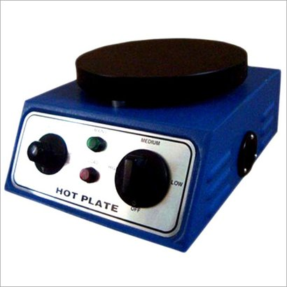 Round Hot Plate With Cast Iron Top