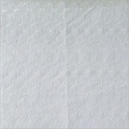 Cotton Allover Embroidered Fabric