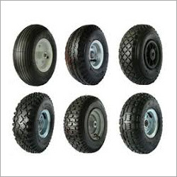 Trolley Rubber Tyre