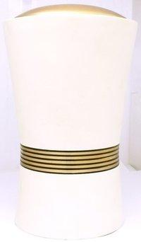 Adult Cremation Urn Placido Range In White