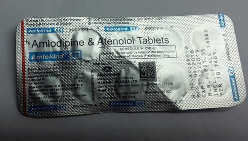 amlodipine atenolol