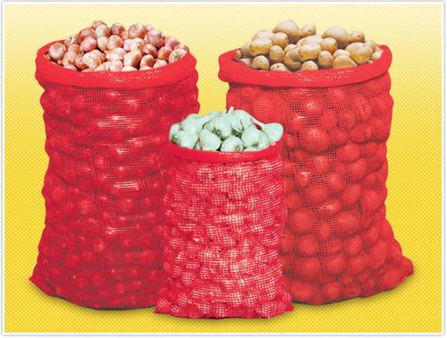 PP Vegetable Leno Bags