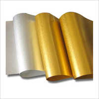 Matte Finish Metallized Polyester Film Roll