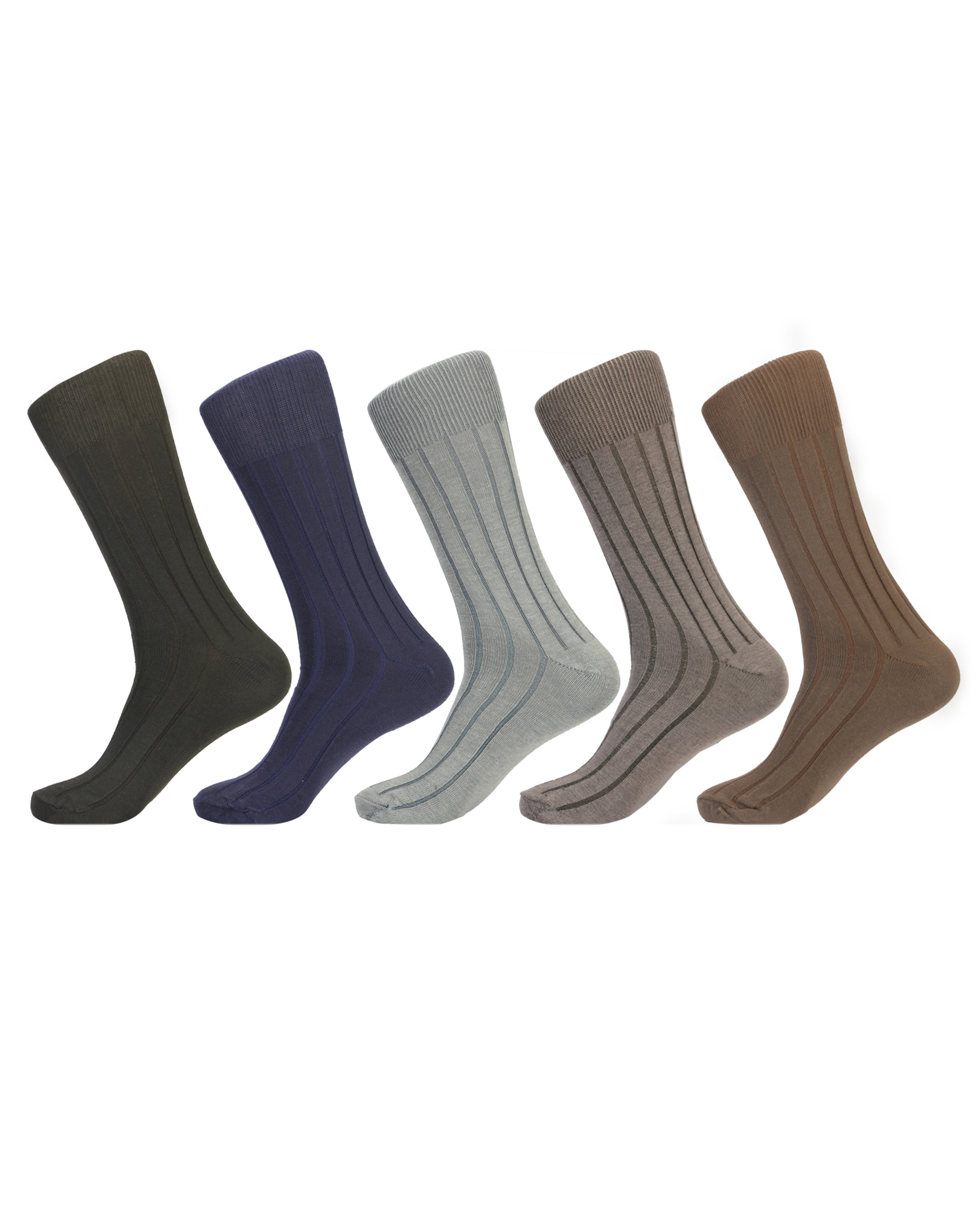 Don All Round Ribb Officers Choice Calf Sock