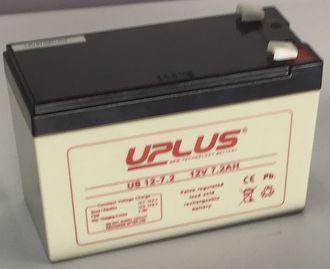 UPLUS SMF BATTERY 12V 7.2AH