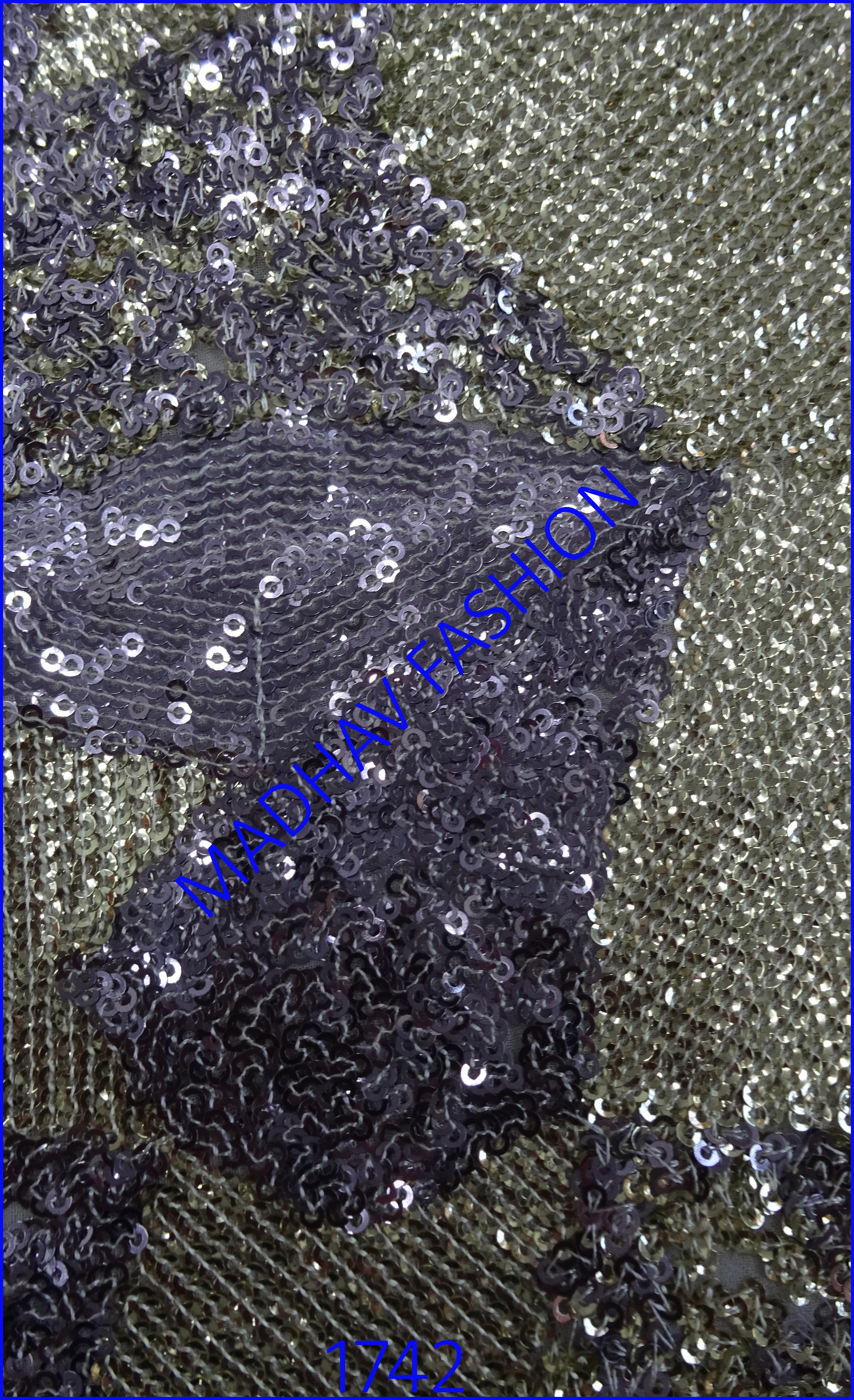 Katori Sequin Embroidery Work
