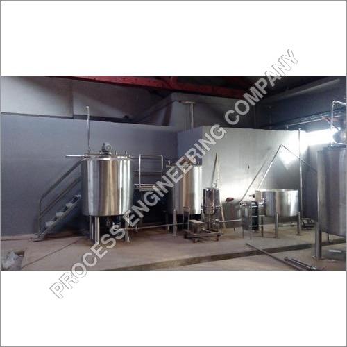 Sugar Syrup Storage Tank