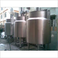 Ice Cream Ageing Vats Machine