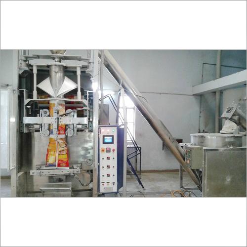 Collar Type Machine With Auger Filler Machine