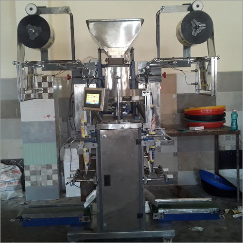High Speed Double Track Automatic Pouch Packing Machine