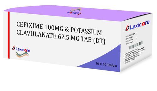 Cefixime and Potassium Clavulanic Acid  tablets
