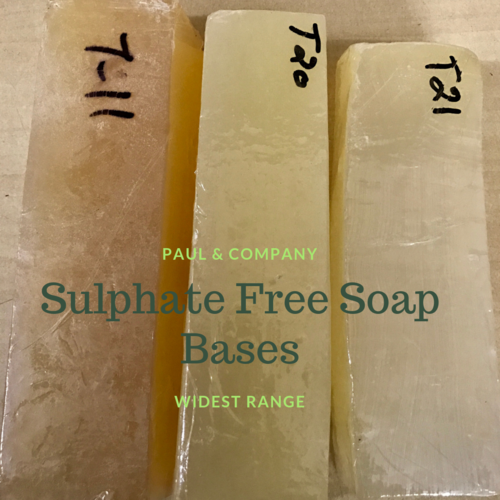 Sulphate Free Melt and Pour Soap Base