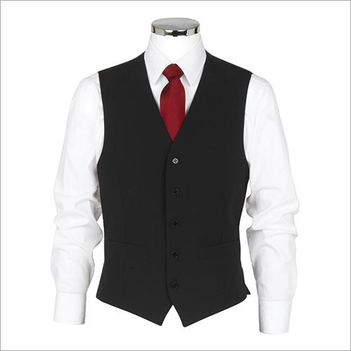 Men's Black Waistcoats