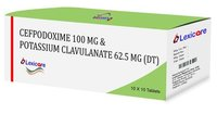 Cepodoxime and Potassium Clavulanic acid tablets