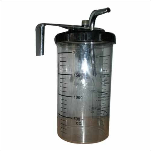 Anaerobic Glass Culture Jar