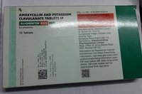 amoxycillin potassium clavulanate tab