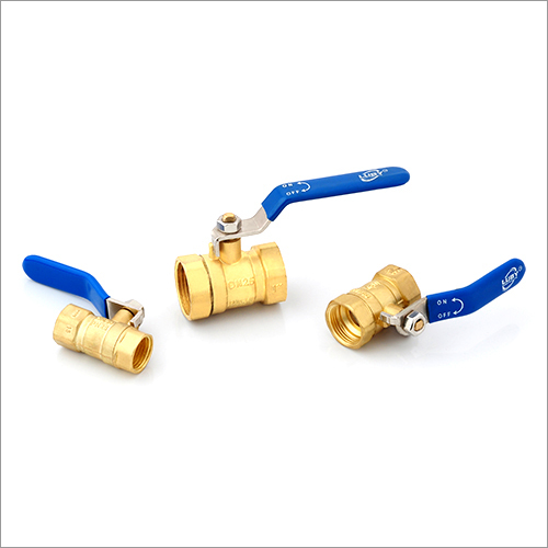 Light Nickle Plated Brass Ball Valve