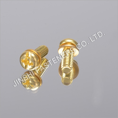 Cross Pan Head Screw With Washer