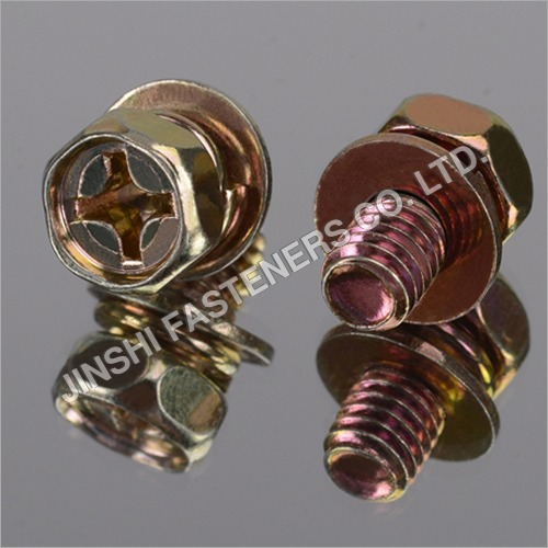 Hex Indented Sems Screw